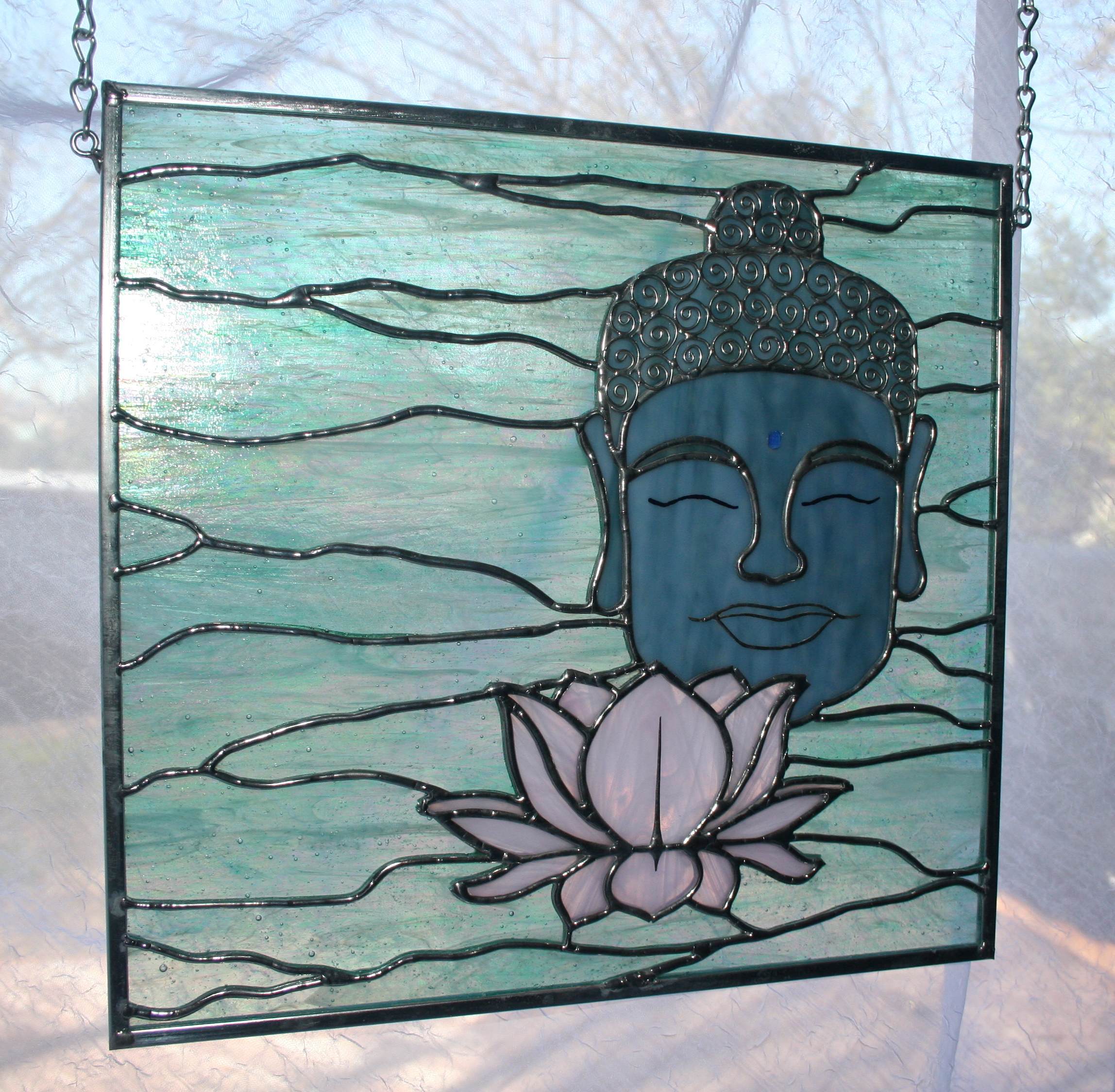 Buddha Amp Lotus Love Affair With Stained Glass