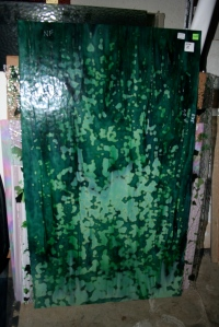 Gorgeous, discontinued, green mottled