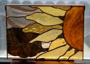 brown sunflower_2