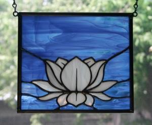 small lotus backlit